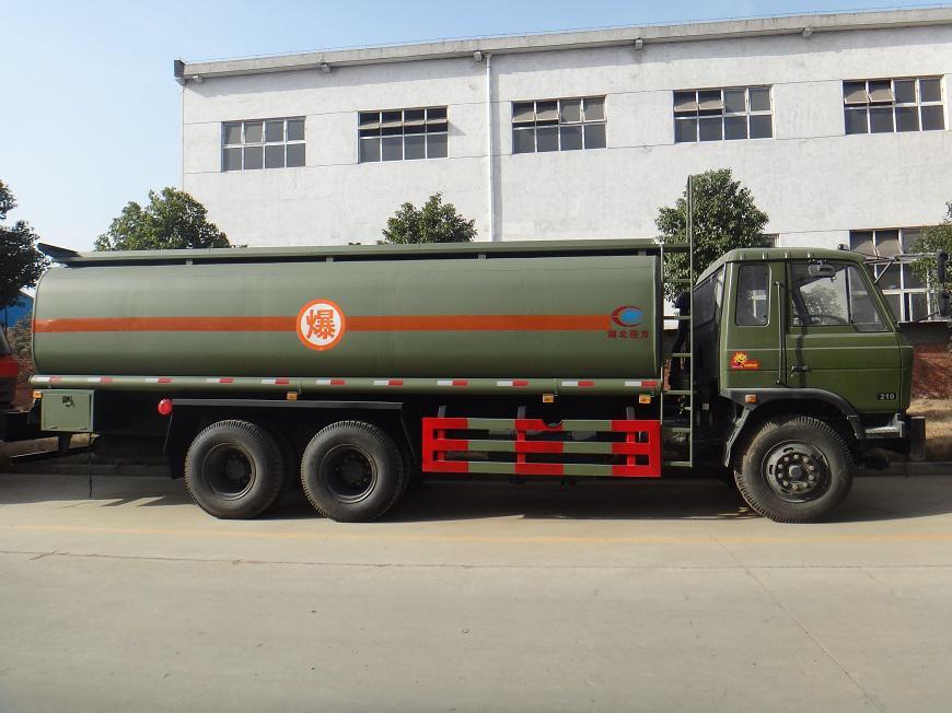 东风15吨油罐车展示图